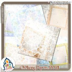 OhMazingPapers XXXVII (CU/PU/S4H) by Benthaicreations [btc-ohmazingpapersXXXVII] - $4.50 : Digidesignresort