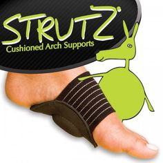 Strutz Cushioned Arch Supports  I imagine these would help anyone with feet or joint problems.