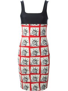 Shop Fausto Puglisi Statue of Liberty dress in Boutique Mantovani from the world's best independent boutiques at farfetch.com. Over 1000 designers from 300 boutiques in one website.