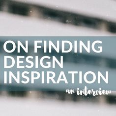 On Finding Design Inspiration. Instagram isn't only about putting your images out there for others; it can also be a source of great inspiration. The South African design scene is certainly an exciting space to watch at the moment, so when I came across @local_za_design, an Instagram account dedicated to South African design, I thought it would be worth finding out a bit more about the person and the story behind the account.