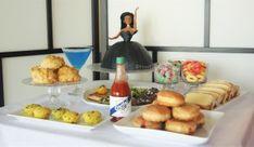 Beyonce themed party menu!