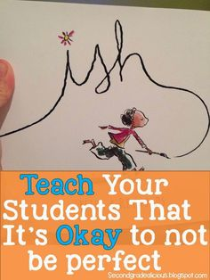 Beginning of the Year Read Aloud...So good!  Teach your students that they don't have to be perfect!
