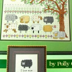 Woolly Fluffy Sheep Cross Stitch Pattern Booklet Pollys... | Shop | Kaboodle