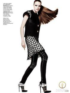 Balenciaga Fall Winter 2011 Editorial