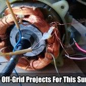 5 DIY Off-Grid Projects For This Summer