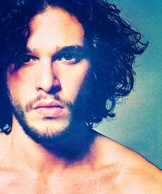 Kit Harington. (Game of Thrones) THIS ONE REMINDS ME OF JIM ON THE COVER OF THE DOORS' GREATEST HITS ALBUM. Wow.