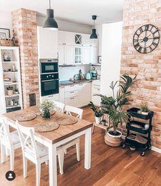 Home Decor Kitchen, Kitchen Interior, Home Kitchens, Big Kitchen, Küchen Design, House Design, Sweet Home, Bedroom Decor For Teen Girls, Cuisines Design
