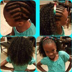 Crochet styles for little girls Kids Crochet Hairstyles, Crochet Braids For Kids, Crochet Braid Styles, Teen Hairstyles, Modern Hairstyles, Little Girl Hairstyles, Braided Hairstyles, Braid Styles For Girls, Girls Braids