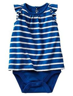 Stripe flutter body double | Gap £9.95