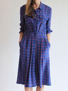 Rachel Comey Hunter Dress - Blue