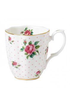Pink Roses Vintage Mug , Royal Albert