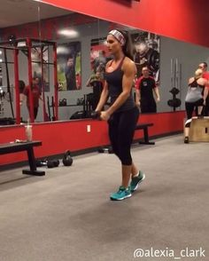 """6,462 Likes, 142 Comments - Alexia Clark (@alexia_clark) on Instagram: """"Ludicrous Lungein' You can do this as a lunge circuit or add any into your workout! 15-20 reps…"""""""