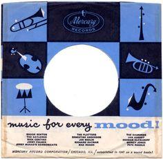 Mercury Records 45 record cover (1961-66).