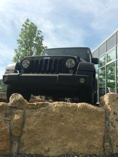 Neuwagen Jeep Wrangler auf unserer Aussenfläche