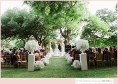 Black Tie Garden Wedding - Four Seasons Wedding in Austin - Wedding Ceremony - The Wedding Concierge Wedding Blog
