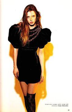 SPORT A//W 2010/11 Puff Sleeve Ivana Helsinki #highfashion #editorials  #fashion