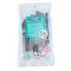 Hamsters Apple Snacks Sticks Pet Molar Branch Chinchillas Rabbit Parrot Rat Small Animal Teeth Cleaning Tool Toothpaste Chew Toy #Affiliate
