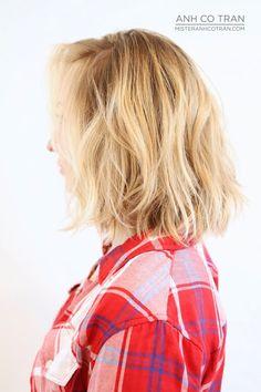 Cut/Style by Anh Cotran. #ramireztransalon #anhcotran #blonde #bob