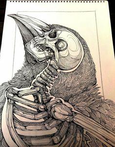 skull n raven