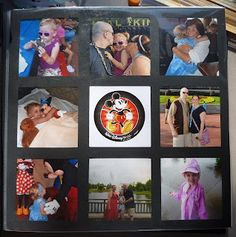 Cool Beans by L.B.: what to do with those leftover Disney photos that do not fit into a layout.