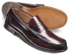 Wine Hatton penny loafer shoes      ≼❃≽ @kimludcom