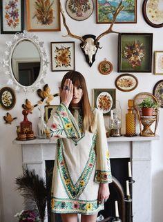 Bohemian Home Decor | Wall Art | Fireplace Mantel | Boho Fashion | waiste: New blogpost over on www.waiste.blogspot.com (it's... (A Bohemian Life)