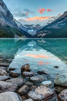 Dawn At Lake Louise