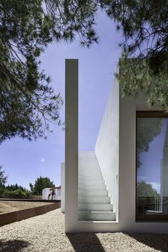 Can Manuel d'en Corda is a contemporary remodel and extension of a traditional stone wall house by Marià Castelló Martínez, on Formentera Island, Spain. Architecture Design, Minimalist Architecture, Contemporary Architecture, Minimalist Design, Concrete Architecture, Building Architecture, Chinese Architecture, Architecture Office, Futuristic Architecture