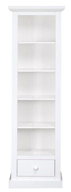 Boekenkast Julia: landelijk romantische kast voor bijvoorbeeld de eetkamer of woonkamer Ideas Para, Bookcase, Sweet Home, Shelves, Living Room, Wood Ideas, House, Styling Tips, Inspiration