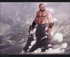 ArtStation - Game of Thrones Character Challenge, Radek Maslowiec