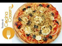 Pizza vegetal. Receta Vegetariana | Recetas de Cocina Casera - Recetas fáciles y sencillas