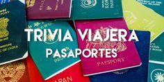 #Pasaportes #Trivia #Viaje