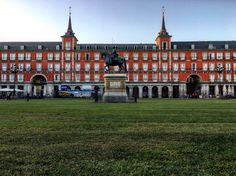 IV Centenario de la Plaza Mayor de #Madrid con césped (09/17)
