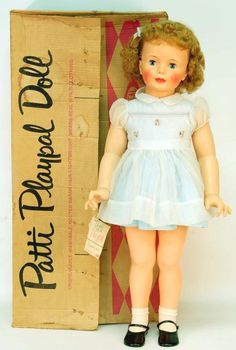I had hair like this. I once scared my grandmother when I left my Patti Playpal doll in a closet, she thought it was me.