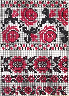 ukrainian folk embroidery: Roses