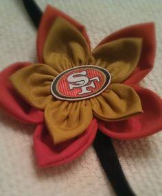 San Francisco 49ers headband....for me :)