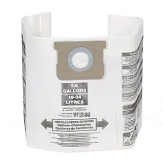 62ad152c249 High-Efficiency Size B Dust Bags for 5 Gal. to 10 Gal. Ridgid Wet Dry Vacs  (24-Pack)
