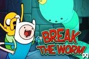 Adventure Time - Break The Worm - Adventure Time Games Adventure Time Games, Cartoon Games, Online Gratis, Worms, Cartoon Network, Games To Play, Family Guy, Youtube, Online Games
