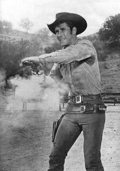 Stunning inch Black and White Photograph of Robert Fuller as Jess Harper in Laramie. John Smith Actor, Laramie Tv Series, Robert Fuller Actor, Clint Walker, The Rifleman, Actor Picture, Tv Westerns, Classic Tv, Classic Movies