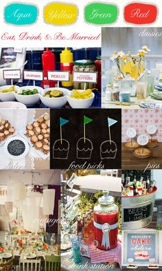 Eat Drink Be Married Houston Tx Event Design Backyard Engagement Party Ideas Inspiration