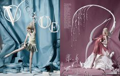 British Vogue pays tribute to 2012 Olympics