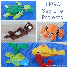 Toys & Hobbies Moc Bricks Diy Aquatic Products Set Lobster Fish Crab Food Box Action Figure Building Blocks Assembled Toys Kids Christmas Gifts Easy And Simple To Handle