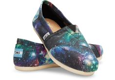 Black Galaxy Galaxy Women's Canvas Classic
