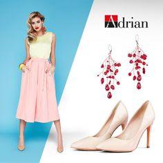 Zwiewne spódnice, kolorowe dodatki oraz jasne szpilki? Jesteśmy na tak! #adrian #adrianinspiruje #rajstopyadrian #style #fasion #inspiration #pastels #glamour #instagram