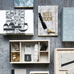 Alternative and decorative storage book from House Doctor. Comes in an assortment of three designs. Choose between light blue (if your live was a House Doctor, Simone Sisters, Abigail Ahern, Decorative Storage, Cozy House, Grey And White, Blue Grey, Decoration, Form