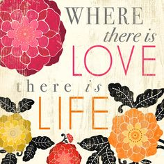 Where there is Love there is Life by Petite Stitches