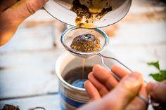 Pampelišková detoxikační káva Chocolate Fondue, Ale, Detox, Desserts, Food, Tailgate Desserts, Deserts, Ale Beer, Essen