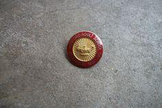 HANFORD ADULT  hospital nursing school training pin badge nurse gold filled