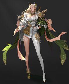ART by coco kim / concept artist Chica Fantasy, Anime Art Fantasy, Fantasy Art Women, Beautiful Fantasy Art, Dark Fantasy Art, Fantasy Girl, Female Character Design, Character Design Inspiration, Character Art