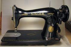 The Vintage Singer Sewing Machine Blog: restoration